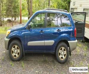 2004 Toyota RAV4 silver grey for Sale